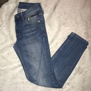 Skinny Low Waist Ankle Denim